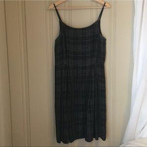 90s vintage midi dress